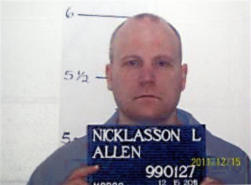 Nicklasson executed in Missouri