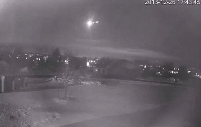 Midwest Fireball a Meteor or Space Debris?