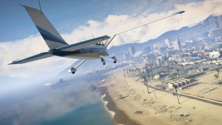 GTA V – flight