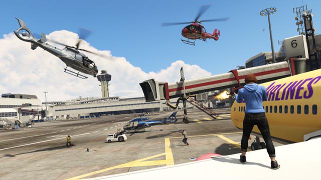 GTA V Details New Capture Mode in Patch 1.08