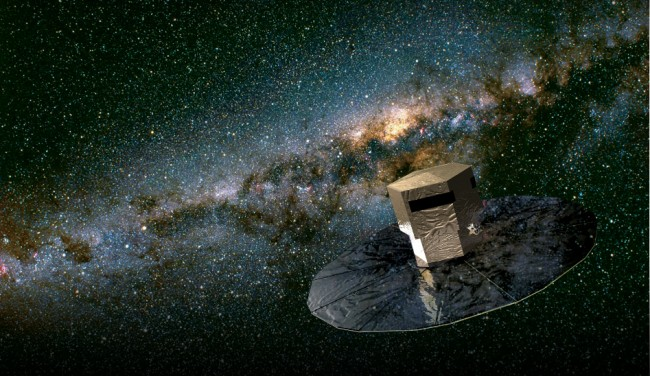 Gaia space observatory launched to survey 1 billion stars