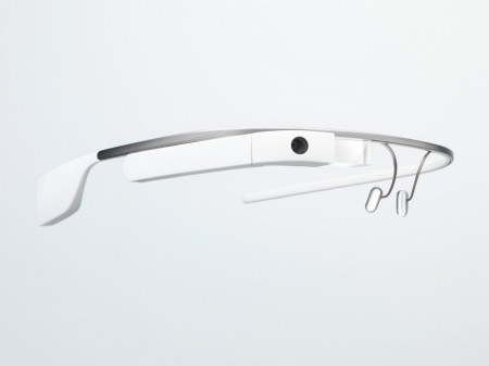 A picture of Google's Google Glass