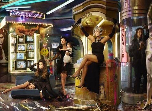 Kardashians 2013 Christmas Card Reveals Odd Symbolism