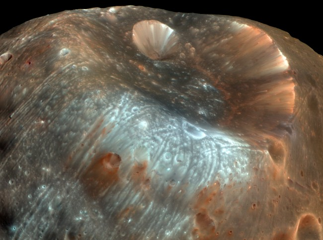 Mars Express Orbiter Completes a Daring Phobos Flyby