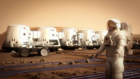 Mars One planned colony on mars