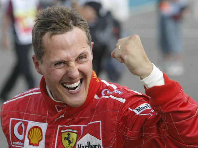 Schumacher, el pura sangre