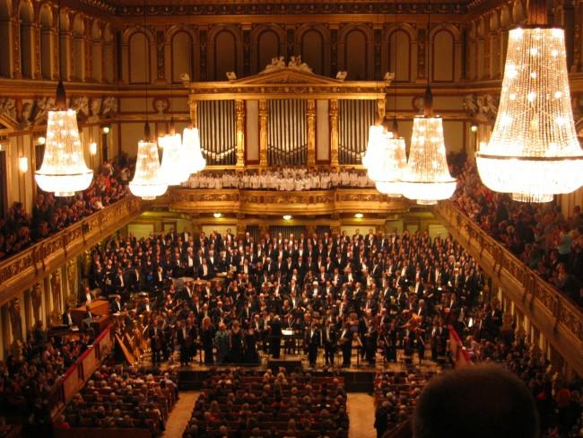 New Year's Concert in Vienna Austria
