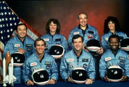 NASA Challenger crew members