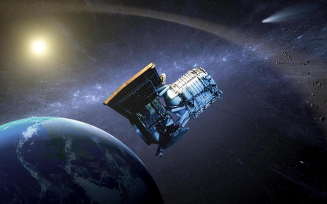 NASA NEOWISE Asteroid Hunter