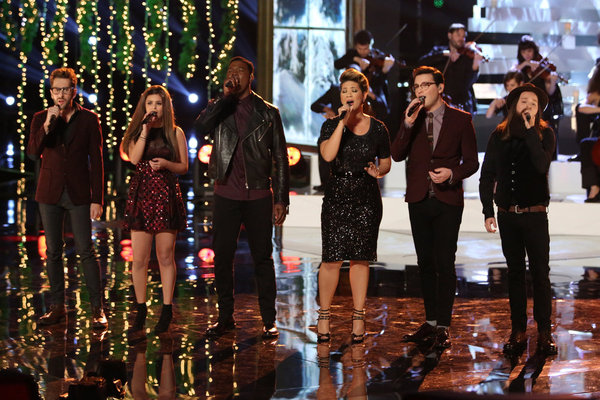 The Voice Top 6 December 3, 2013