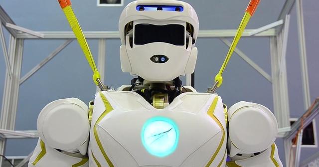 Nasa Designs Superhero Robot