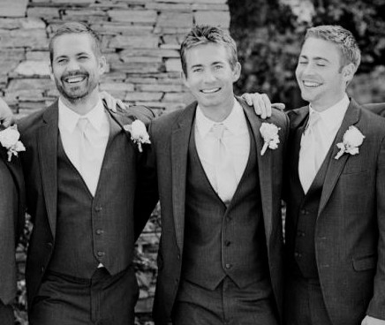 Paul Walker and brothers Cody Walker and Caleb Walker