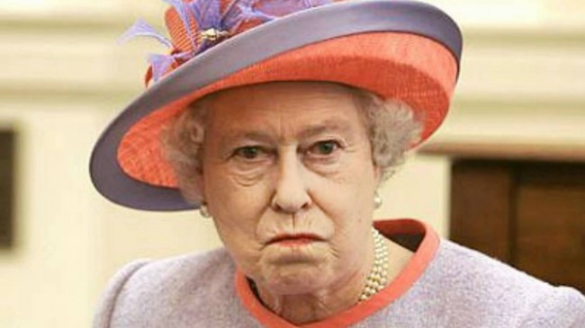 Queen Elizabeth: Nobody Better Lay a Finger on My Nuts
