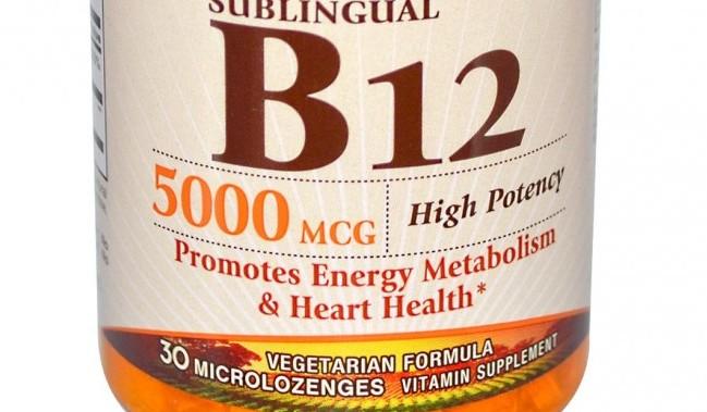 Supplemental or natural B12