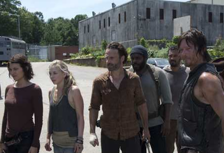 The Walking Dead Midseason Finale: Tanks for the Memories