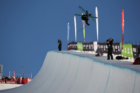 Men & Women Ski Halfpipe