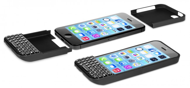 Case meets keyboard to embrace iPhone