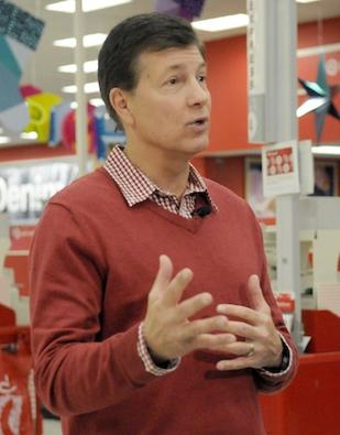 "Target CEO Steinhafel states consumers should be ""confident"" to resume shopping"