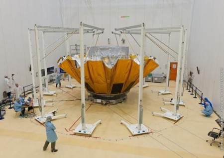 Testing of Gaia's sunshield