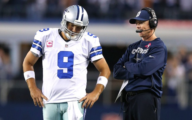 Tony Romo Will Not Play Against Eagles, Out for Season