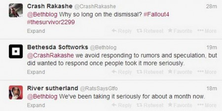 Why did Bethesda not denounce Survivor 2299