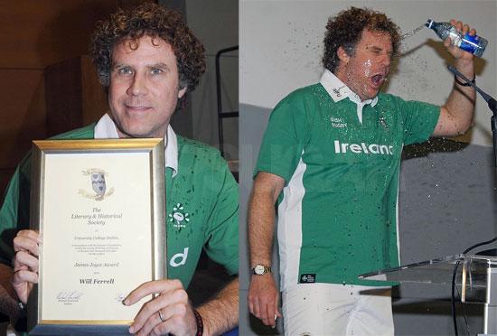 Will Ferrell Proud of Irish Roots