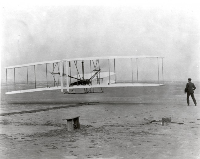 Wright Brothers First in Flight 110 Years Ago, Or Were They