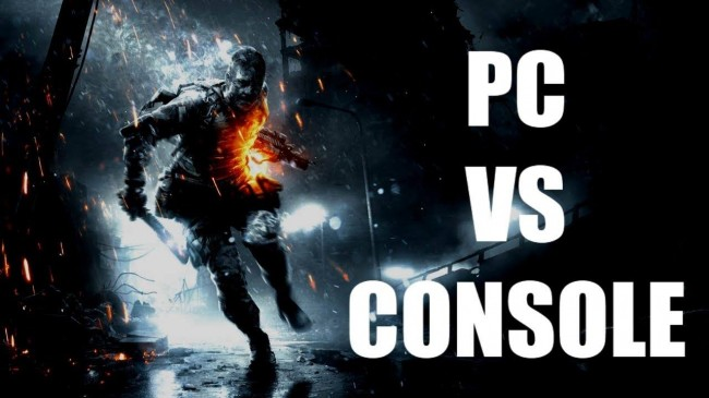 Xbox One and Playstation 4 vs PC