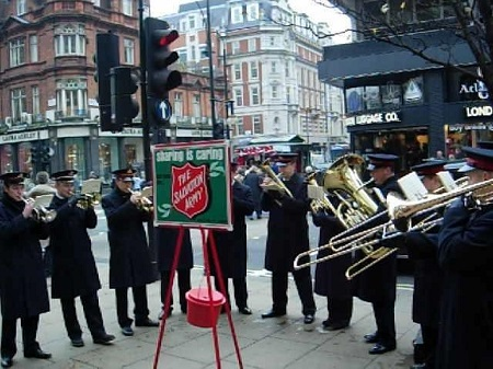 Salvation Army 123 Years of Giving