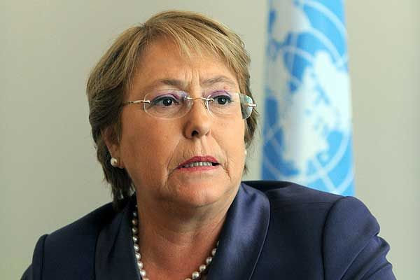 Bachelet, world, president, chile