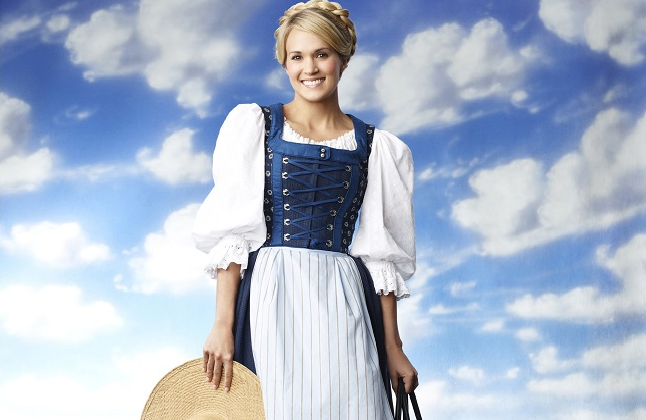 Carrie Soared in The Sound of Music