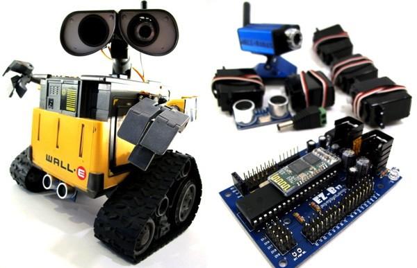 Robots Built at Home