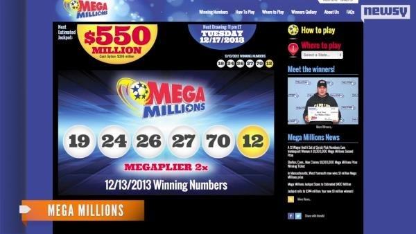 Mega Millions Jackpot: $550 or Higher