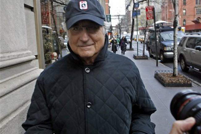 Madoff Ponzi Crook