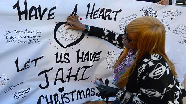 Jahi McMath is brain-dead and in need of a miracle for Christmas