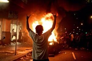 Man celebrates Little India Riots