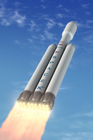 Mars One's future SpaceX Falcon Heavy
