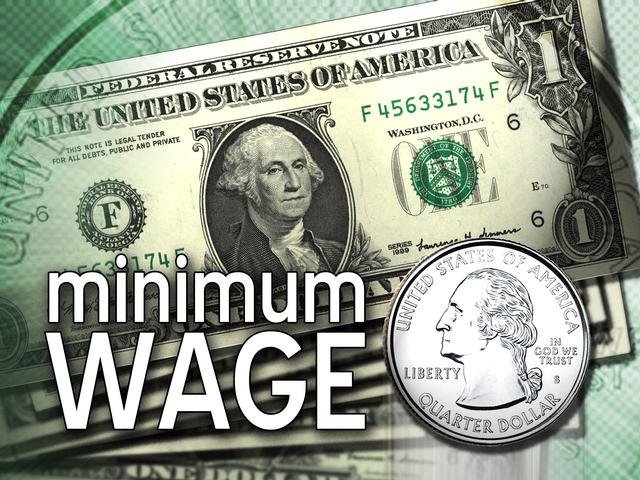 minimum wage - not enough