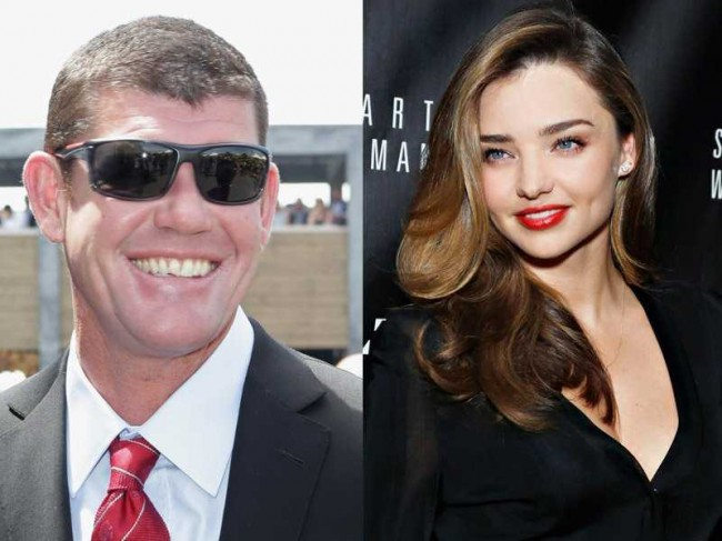 Miranda Kerr, james packer, dating, entertainment