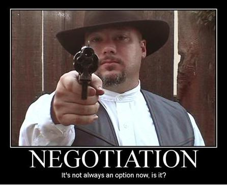 Negotiation: Lesson One