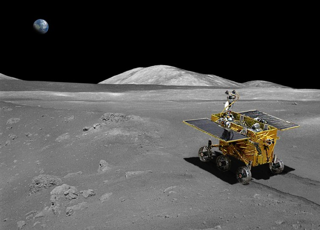 China Lands on the Moon deploys Jade Rabbit