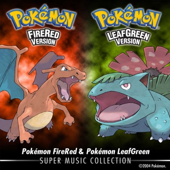 Pokémon LeafGreen and FireRed Soundtrack.