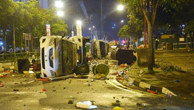 Little India Riot Singapore Media Whitewash