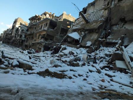 Syria still in ruins