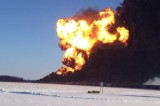 Train Derailment In Casselton, North Dakota
