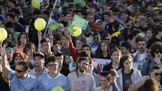 Uruguay Legalises Marijuana