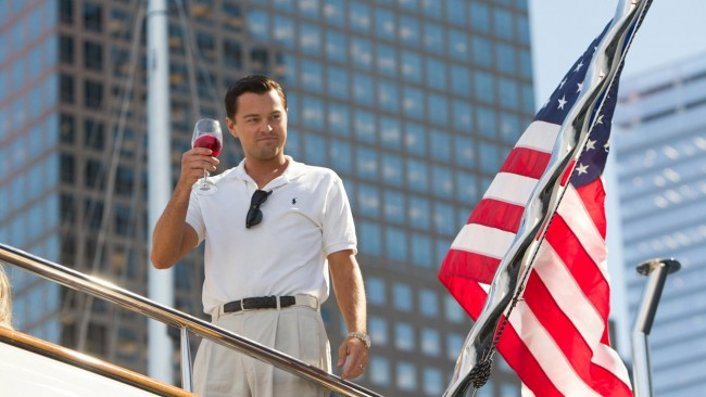 Leonardo DiCaprio on the Movie 'The Wolf of Wall Street' & Related Stories
