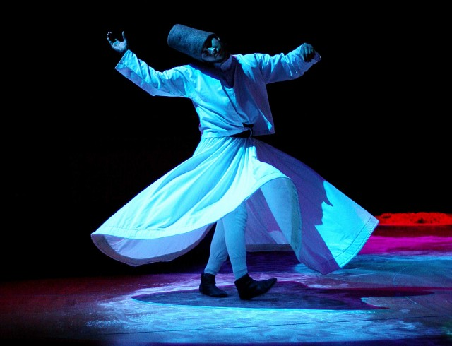Mevlevi Dervishes United With God
