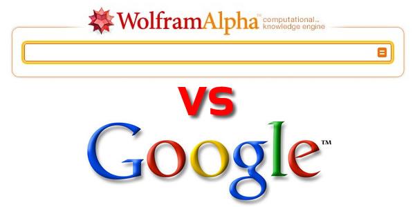google and wolfram alpha
