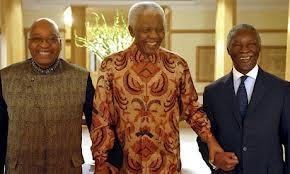 Zuma and Mandela